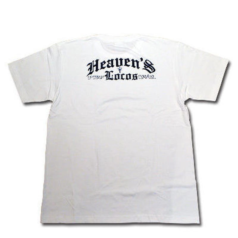HEAVEN'S LOCOS T-SHIRT WHITE