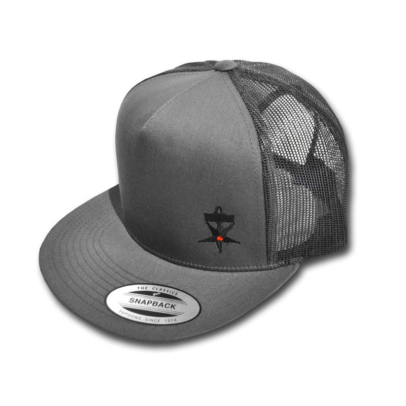 NO TRAFFIC MESH CAP GRAY