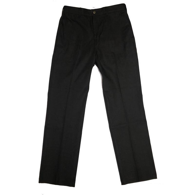 18AW TINO PANTS BLACK