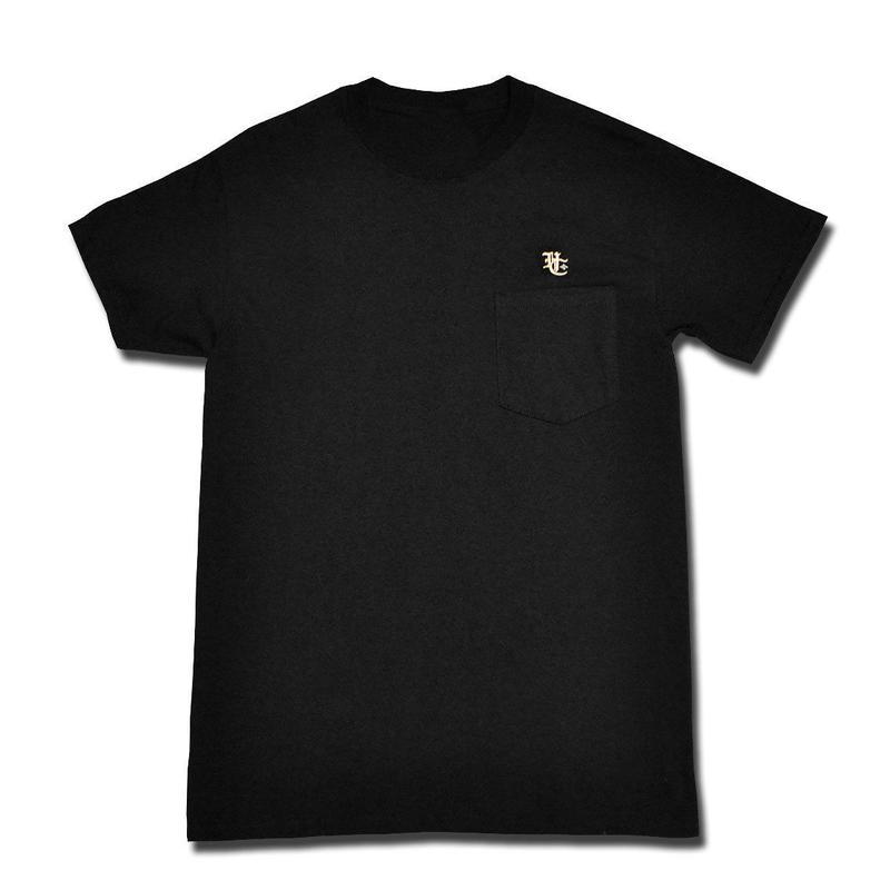 BURN POCKET T-SHIRT BLACK