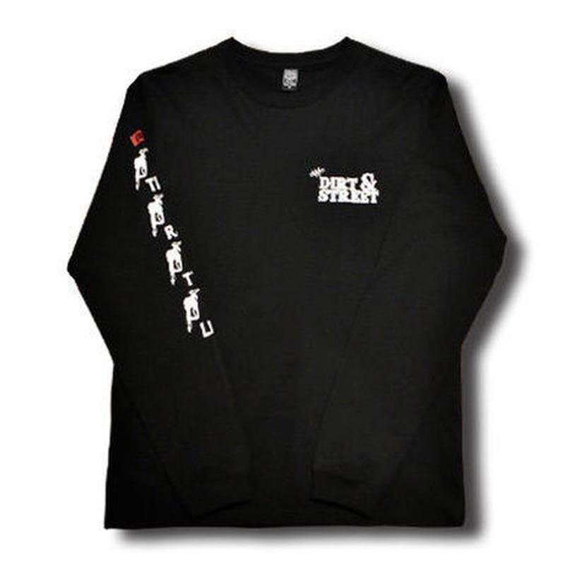 FULL THROTTLE L/S TEE BLACK