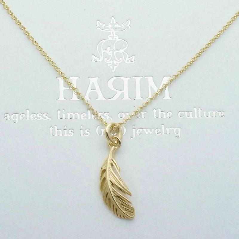 【予約】MINUSCULE  FEATHER  M 【K10】