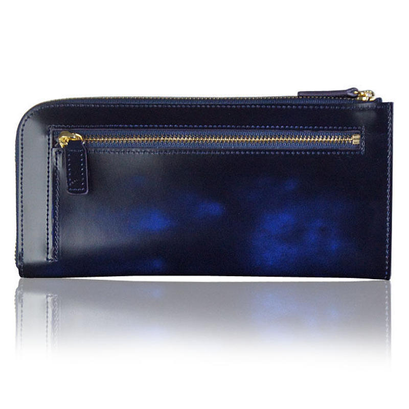 日本製 アドバンティックレザー L字ラウンドファスナーウォレット 財布 メンズ レディス ギフト