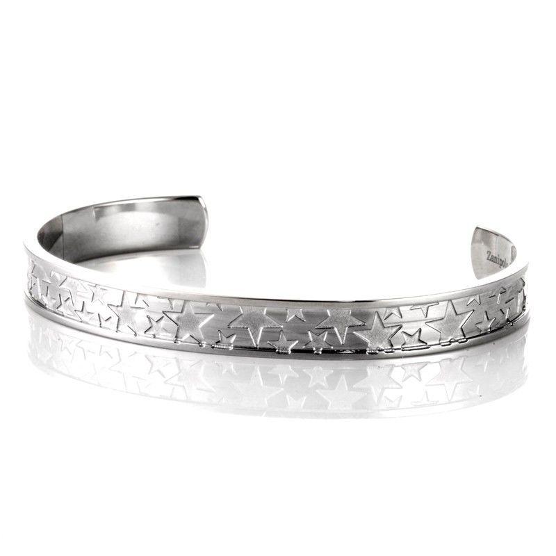 ブラックダイヤモンド  ザニポロタルツィーニ ブレスレット メンズ スター バングル 星 ZTB2239