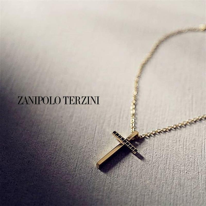 Zanipolo Terzini  クロス ネックレス ゴールド  ztp2249gd