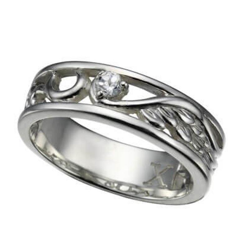 ビザール トライバルウイング シルバーリング 925 レディース シルバー 指輪 お洒落 人気 オススメ プレゼント  のコピー