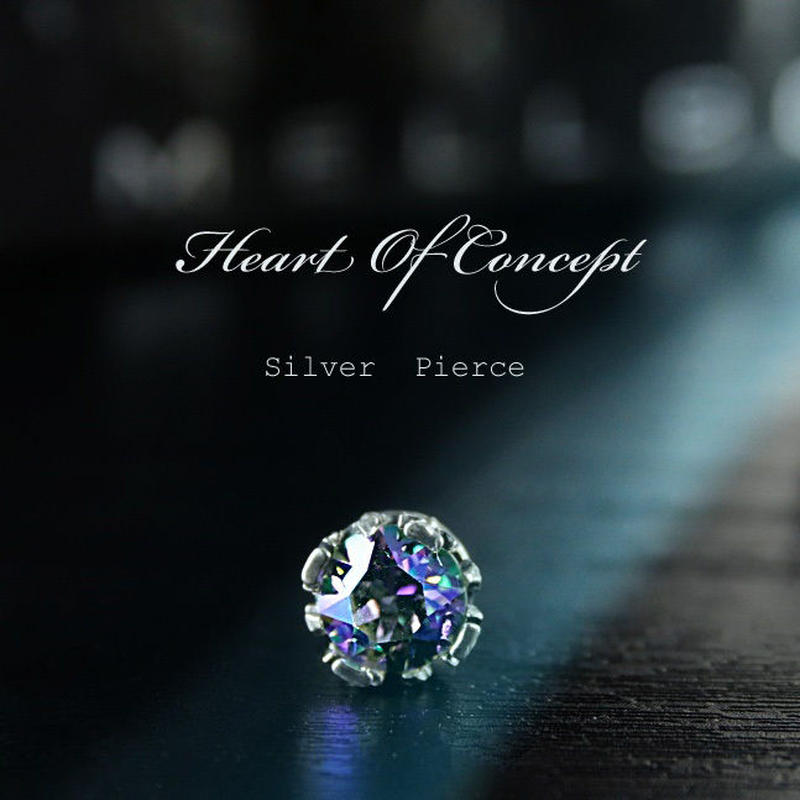 Heart Of Concept シルバーピアス 片耳分 HCE-0051PS