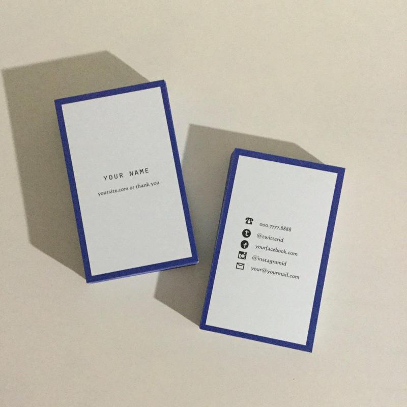 05d3_pp  パーソナル名刺【100枚】【ショップカード】
