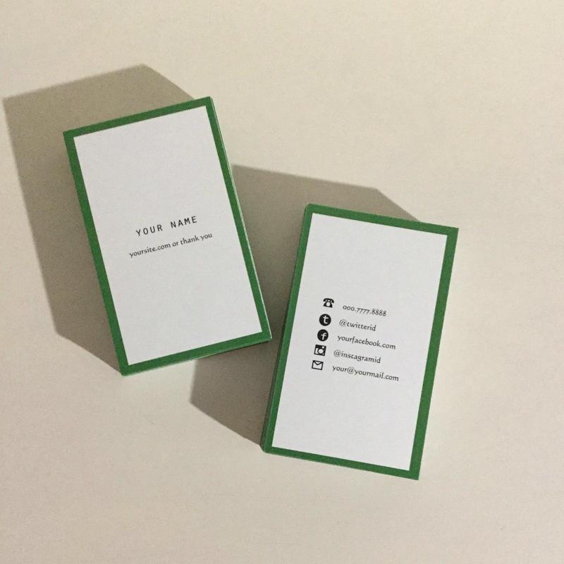 05d4_gr  パーソナル名刺【100枚】【ショップカード】