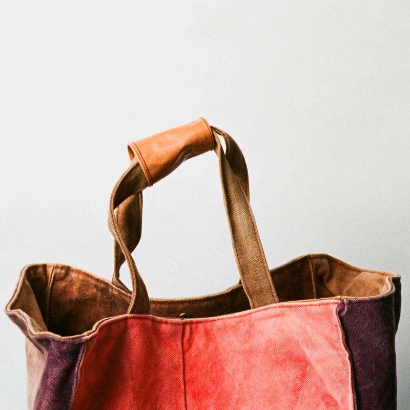 かばんの健康診断 持ち手の補強(送付用袋)