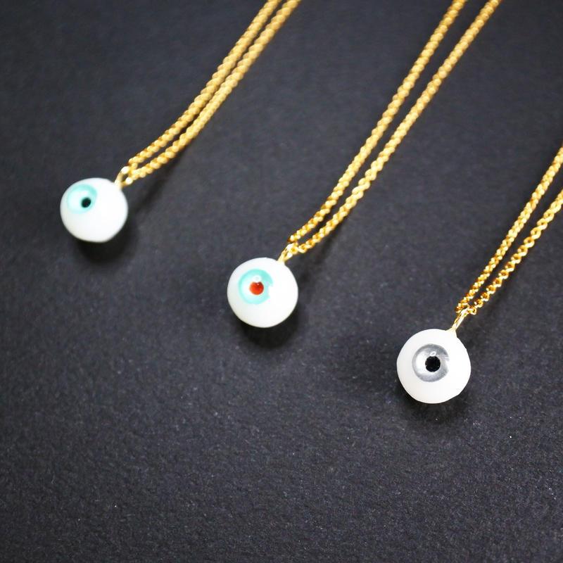 small eye ネックレス(チェーン約40cm)