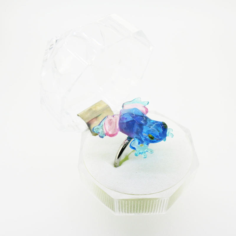 kaeruリング(フリーサイズ)  透明  ミックス