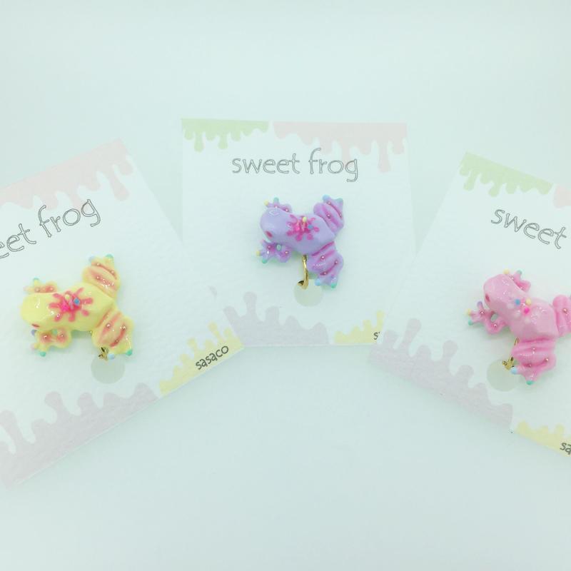 sweetfrogイヤリング(片耳)