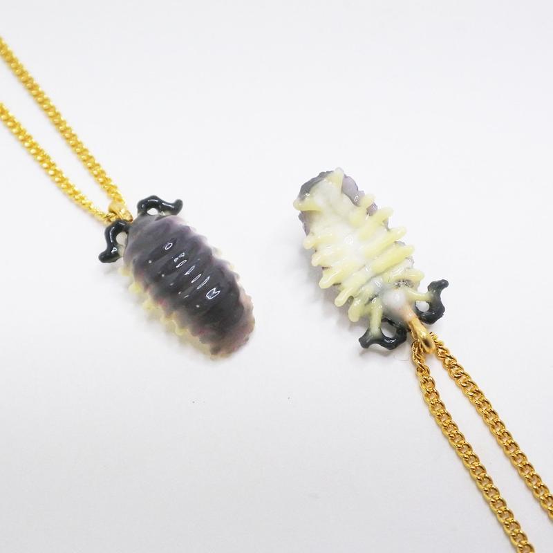 ダンゴムシ ネックレス(チェーン約45cm)