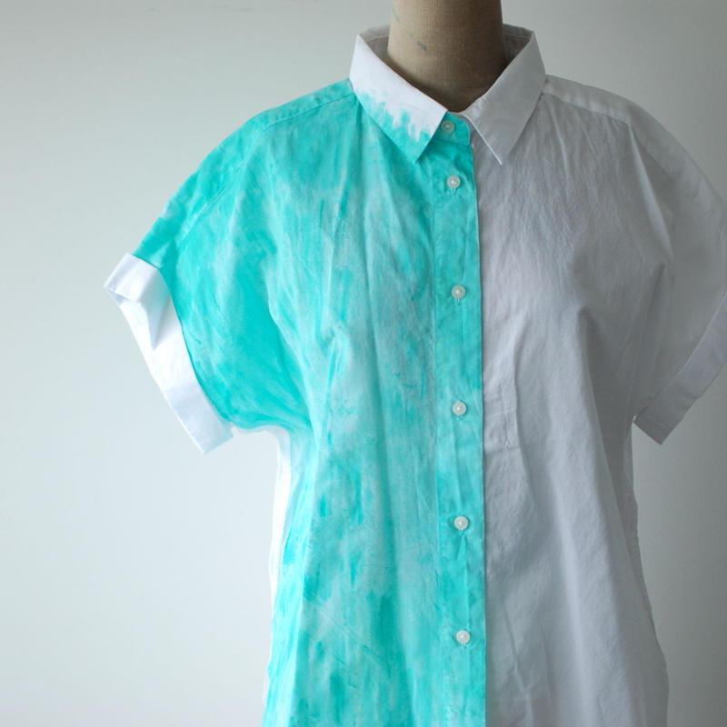 コットンシャツ 半袖 Lady's M