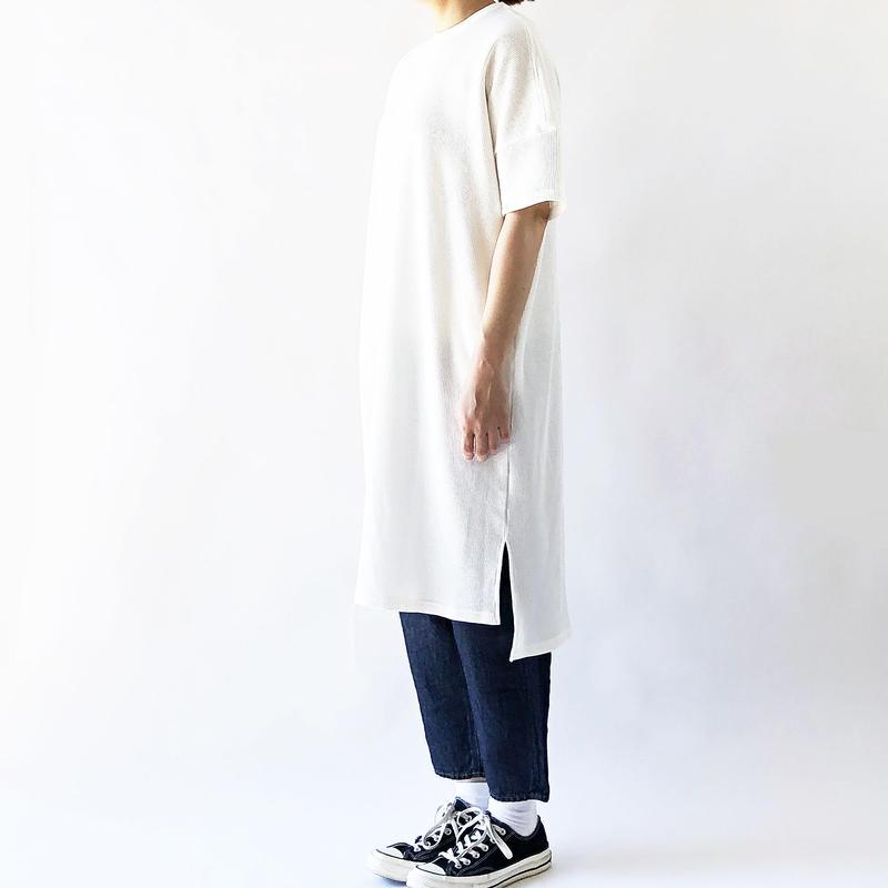 WAFFLE S/S DRESS(ワッフル半袖ワンピース) A51905