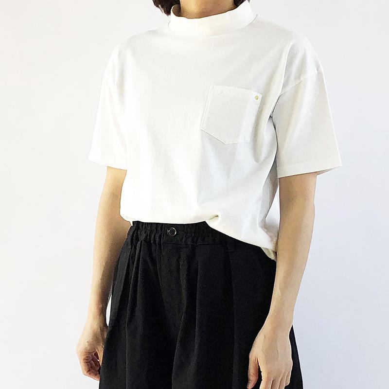 MOCK NECK  T-SH (モックネックTシャツ)  A51702