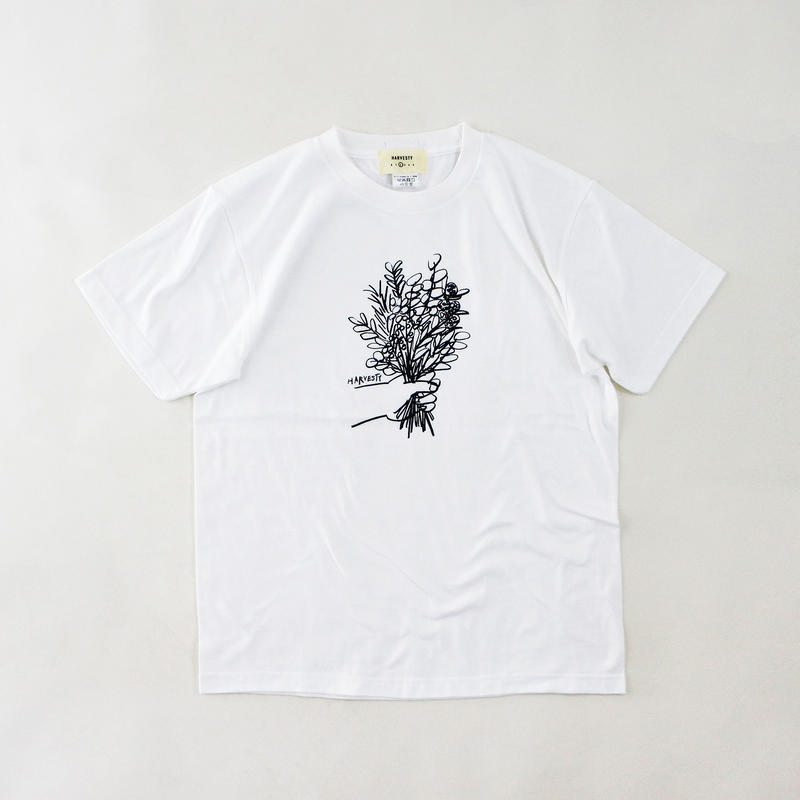 PRINTED T-SH【FLOWER】 (プリントTee  フラワー柄)  A51907