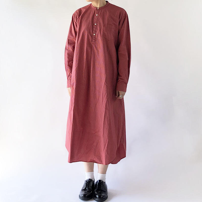 SHIRT DRESS  CHECKERED CLOTH(シャツワンピ チェック柄)  A41902