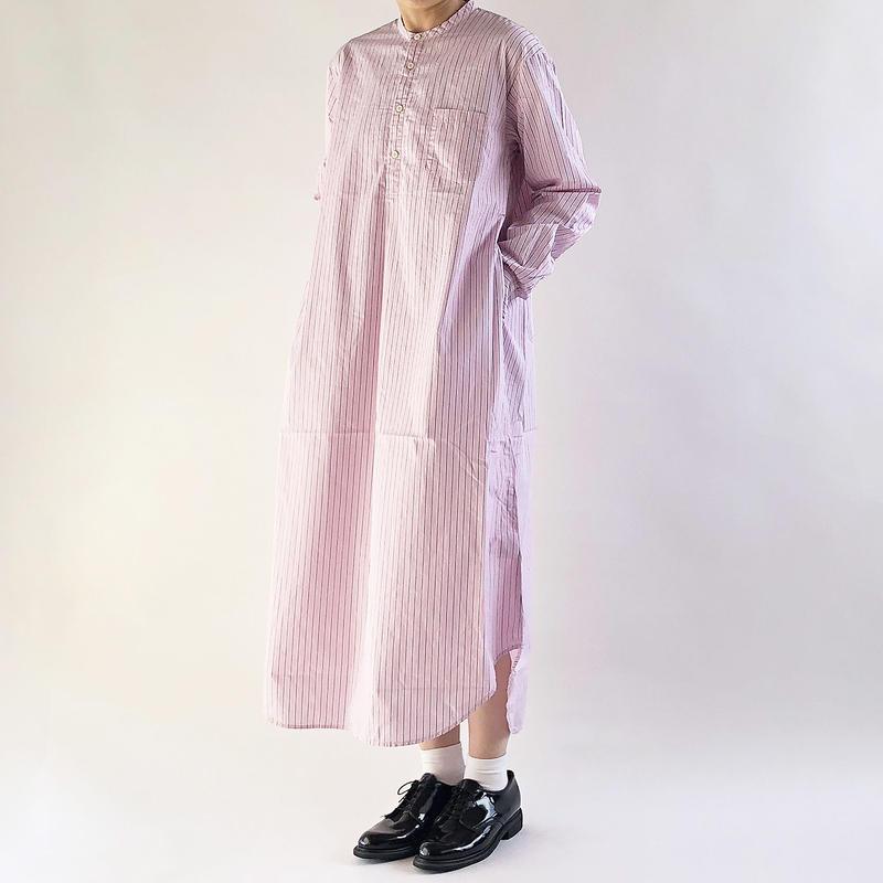 SHIRT DRESS  STRIPES CLOTH(シャツワンピ ストライプ柄)  A41903