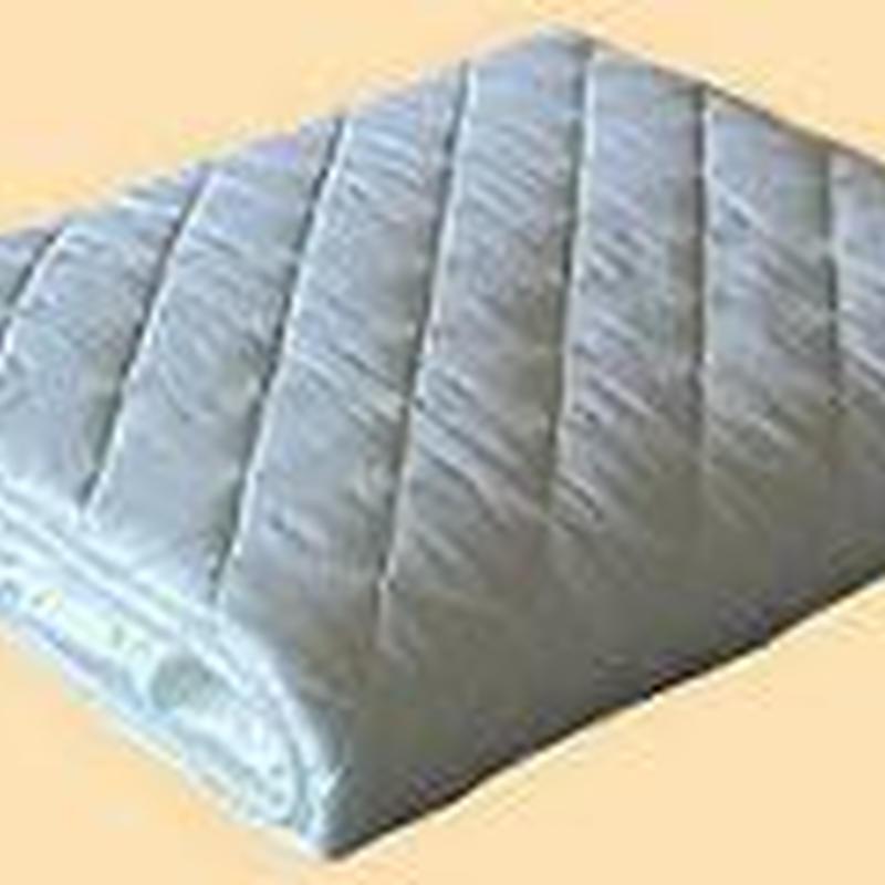パシーマパットシーツジュニア (90cm×210cm )きなり 白 格子