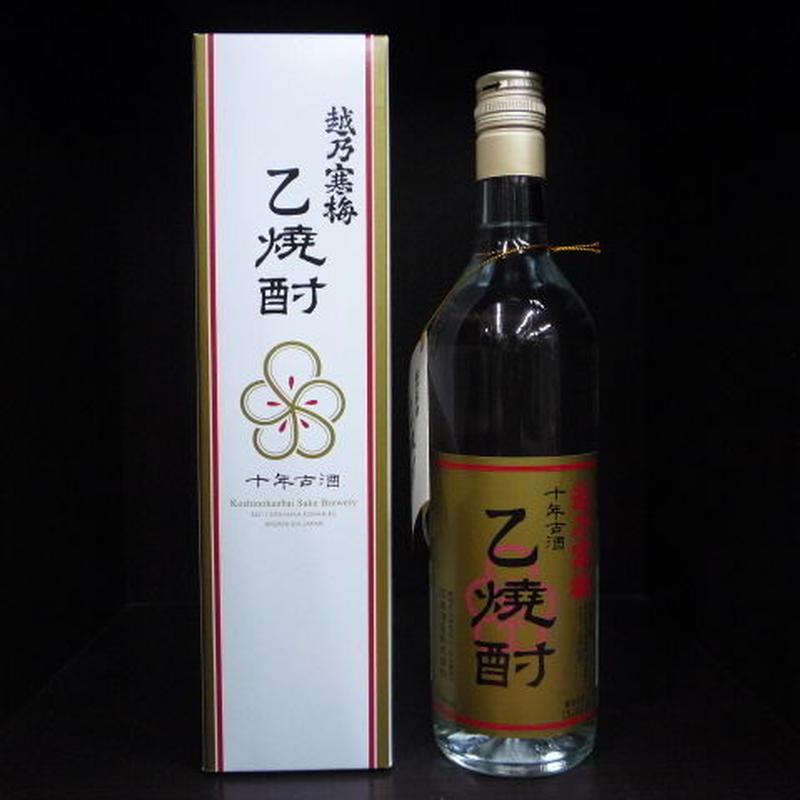 越乃寒梅・乙焼酎10年古酒 43° 720ml