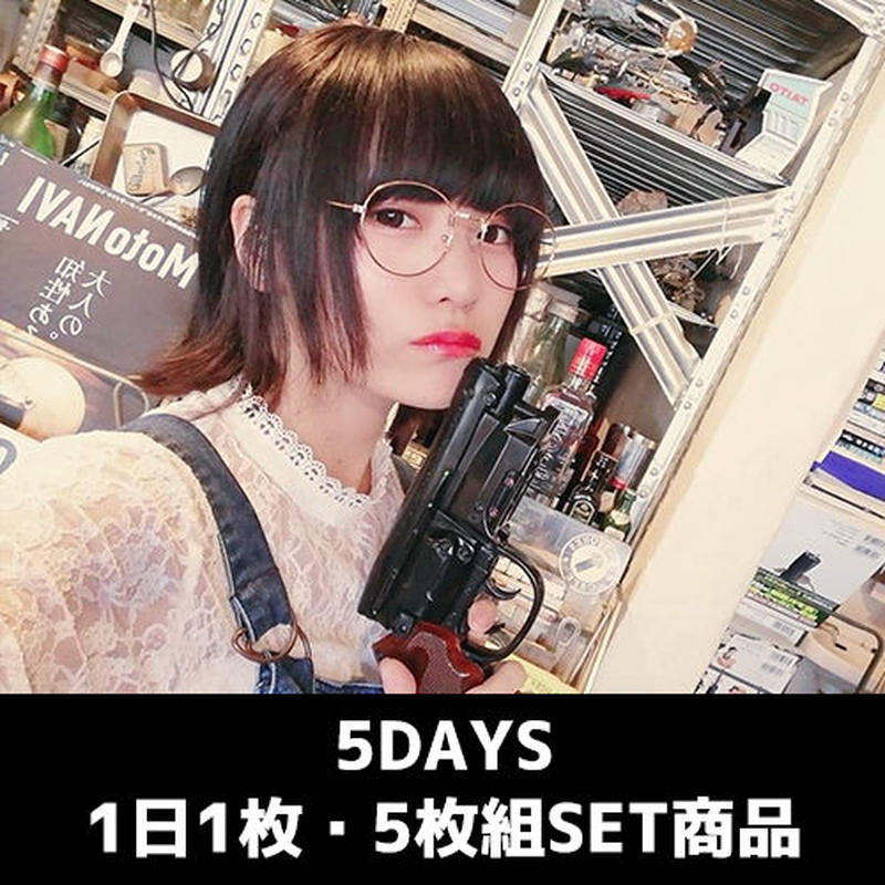 【千代絢子】インドネシア5DAYS待ち受け(毎日1枚・計5枚SET商品)