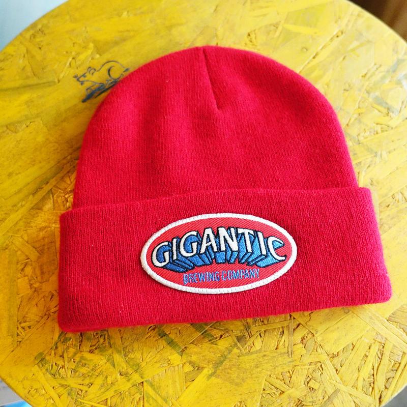 GIGANTIC BREWING -Beanie- Red ジャイガンティック ビーニー赤  税込/送料込