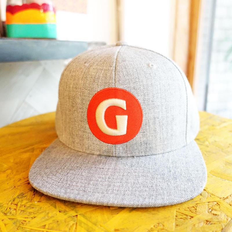 """GIGANTIC BREWING -CAP- """"Stich LOGO"""" Gray ジャイガンティック 刺繍 ロゴ グレー"""
