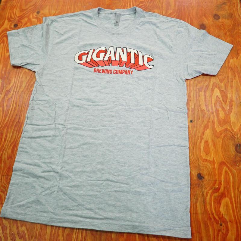 -Classic Gigantic Tees- GRAY -クラシックジャイガンティック Tシャツ- グレー  税込/送料込