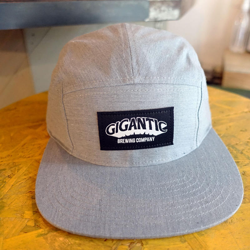 "GIGANTIC BREWING -CAP ""BLACK TAG"" Gray ジャイガンティック キャップ ""ブラック タグ""  グレー"