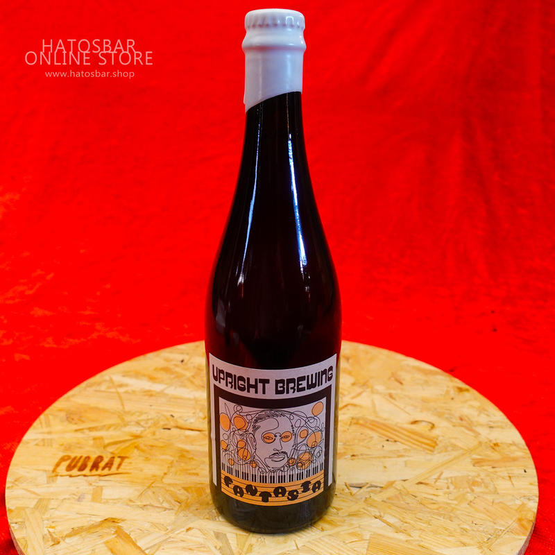 """BOTTLE#17『Fantasia』""""ファンタジア"""" American Wild Ale/6.0%/750ml by UPRIGHT Brewing."""
