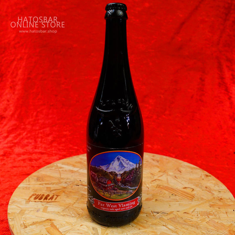 "BOTTLE#31『Far West Vlaming』""ファー ウェスト ブレーメン"" Saison/6.5%/750ml by Logsdon Farmhouse Ales"