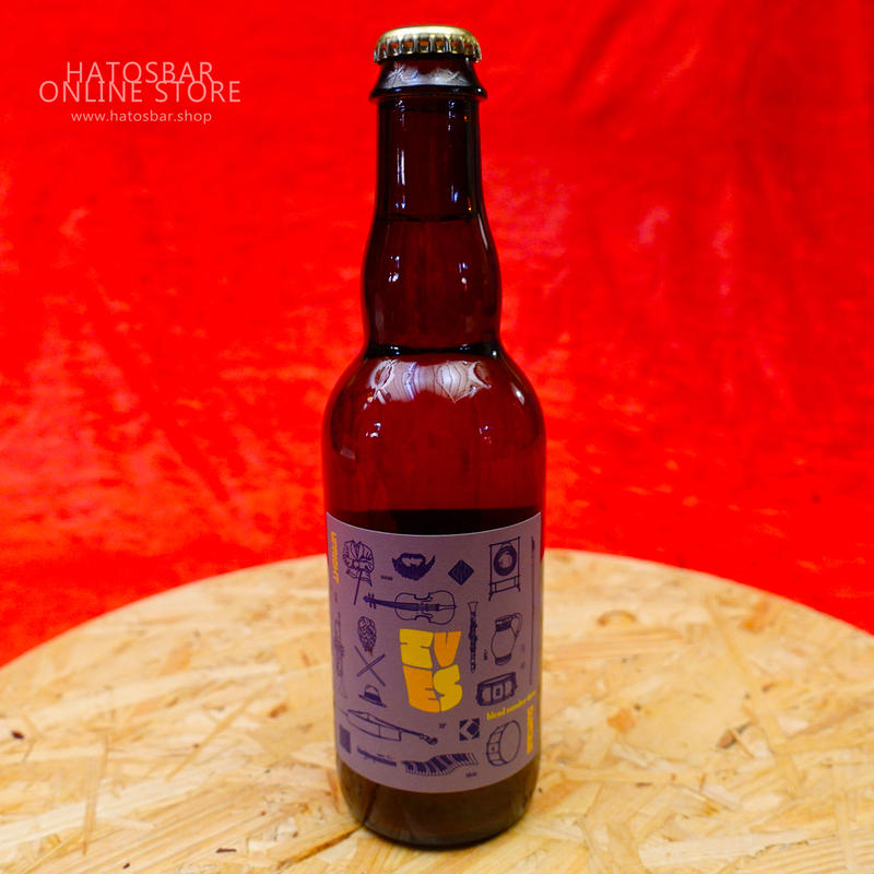 """BOTTLE#22『Ives 3rd』""""アイヴス サード"""" Lambic/7.0%/375ml by UPRIGHT Brewing."""