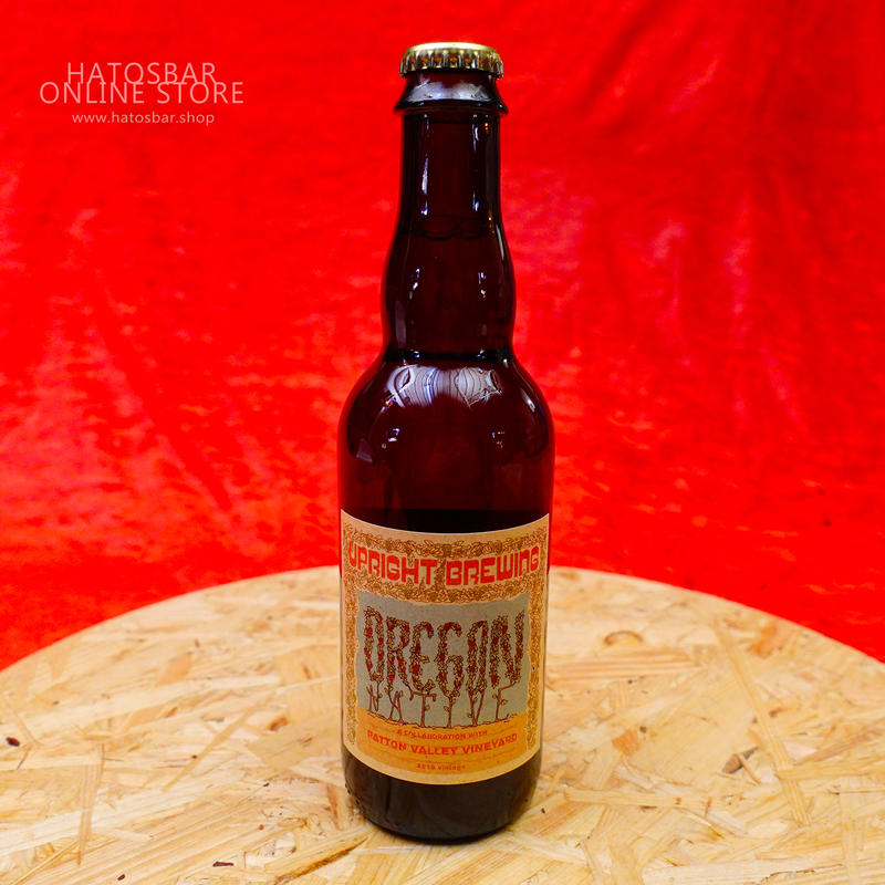 """BOTTLE#19『Oregon Native』""""オレゴンネイティブ"""" Saison/8.0%/750ml by UPRIGHT Brewing."""
