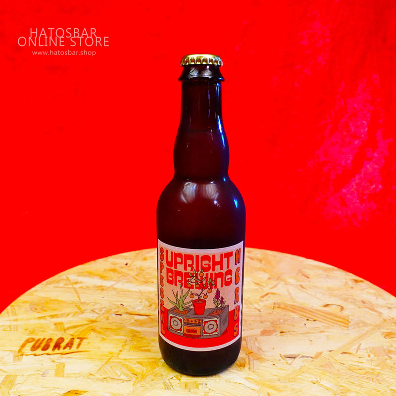 """BOTTLE#16『Special Herbs』 """"スペシャル ハーブス"""" Saison/5.7%/375ml by UPRIGHT Brewing."""