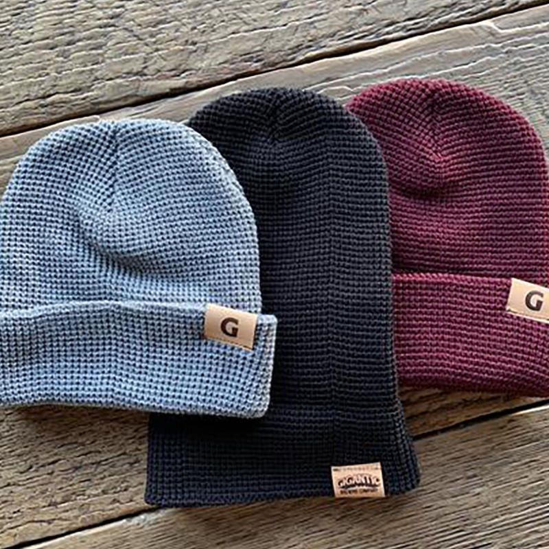 -Waffle Gigantic Beanie- 3colors ジャイガンティック・ワッフルビーニー3色