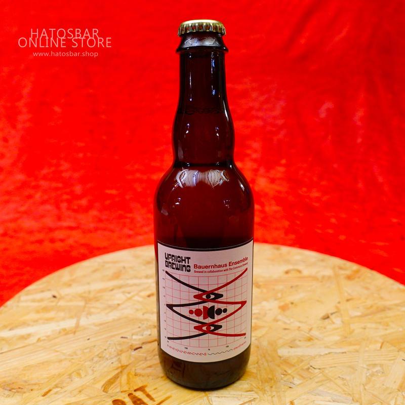 "BOTTLE#24『Bauernhaus Ensemble』""バーレンハウス アンサンブル"" Saison/5.5%/375ml by UPRIGHT Brewing."