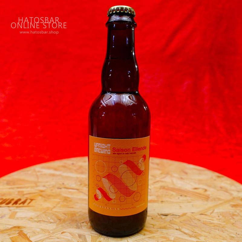 "BOTTLE#26『Saison Ellende』""セゾンエレンド""Saison/5.2%/375ml by UPRIGHT Brewing."