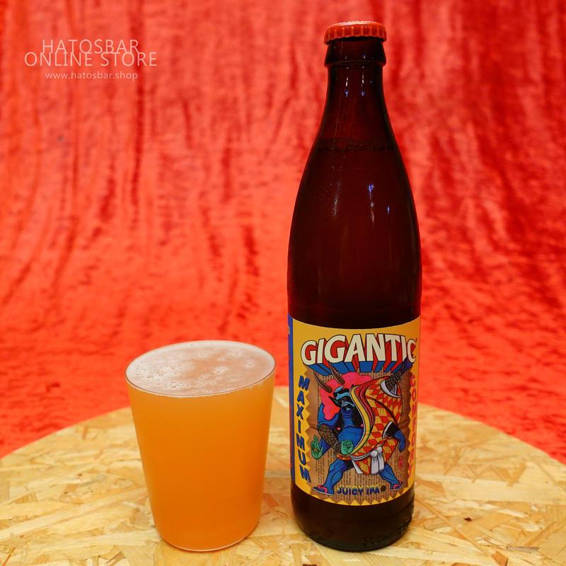 "BOTTLE#51 『MAXIMUM COMFORT』""マキシマムコンフォート"" JUICY IPA. alc. 7.5%/500ml by GIGANTIC Brewing."