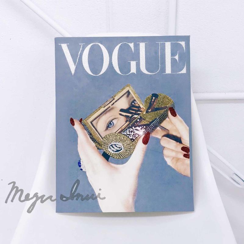 """Vintage VOGUE Deco  """"mirror..."""""""