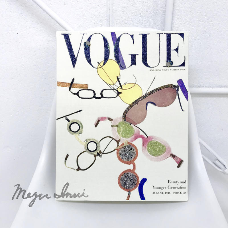 """Vintage VOGUE Deco """"glasses"""""""