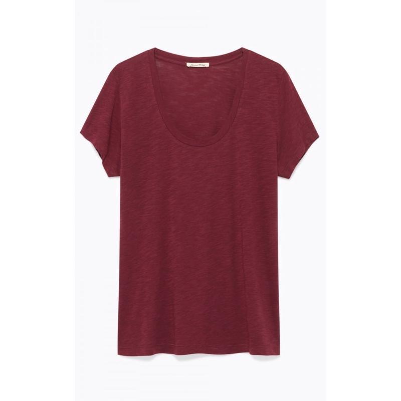 American Vintage  アメリカンヴインテージ JAC48  フレンチスリーブTシャツ