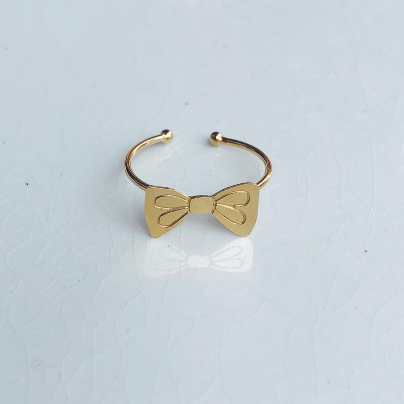 Titlee ティトゥリ bow ring リボンリング