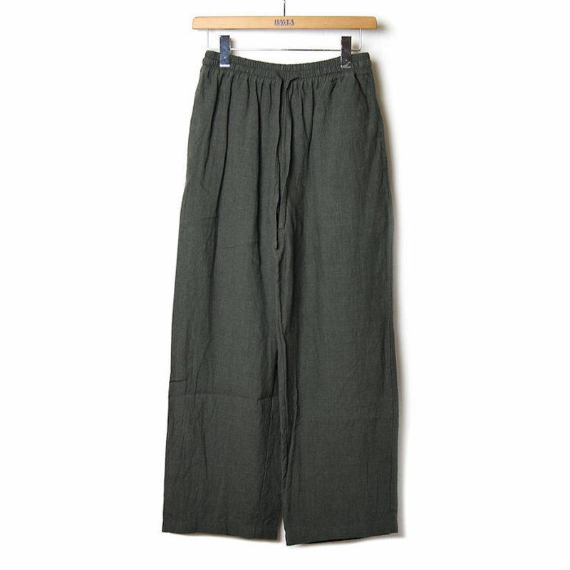 <coochucamp> Linen Wide Pants / ワイド リネンパンツ