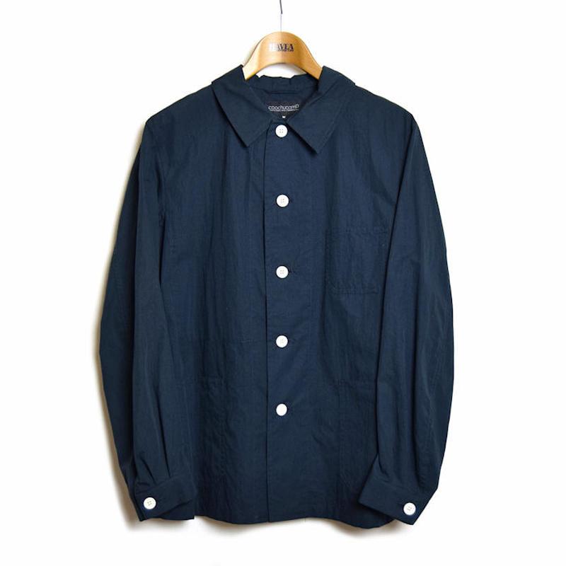 ※残りネイビーのみ < coochucamp>  Happy Shirt Jacket
