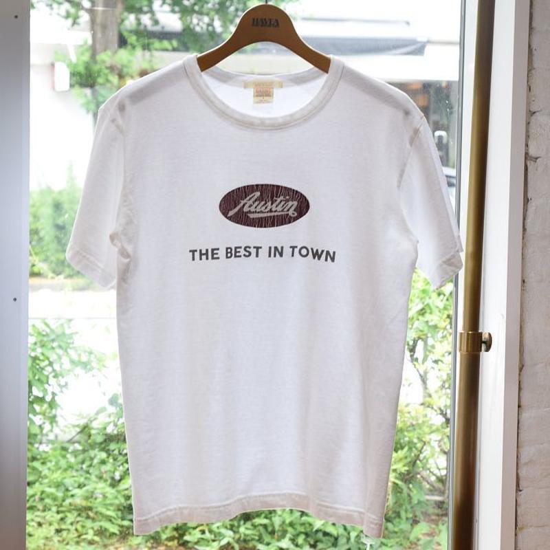 """※残りMサイズのみ 2018SSリリース <BARNS>Print Tee """"Austin"""""""