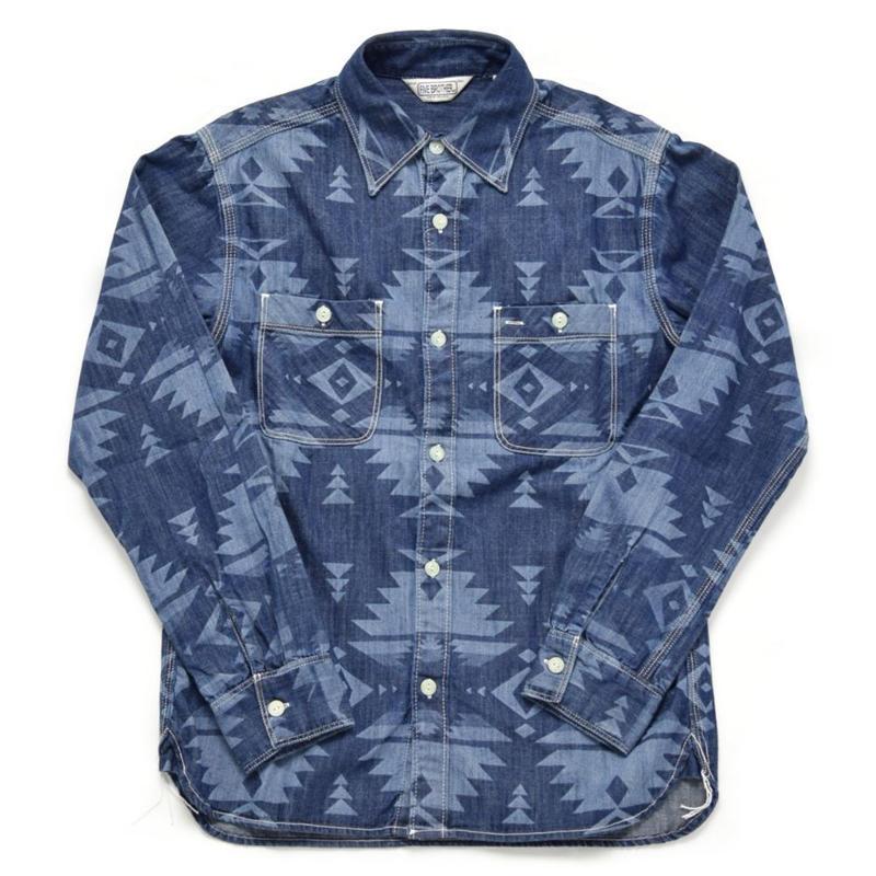 ※残りSサイズ1点 ネイティブデニムワークシャツ