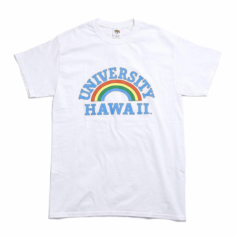 【メール便送料無料】レインボーロゴ University HAWAII