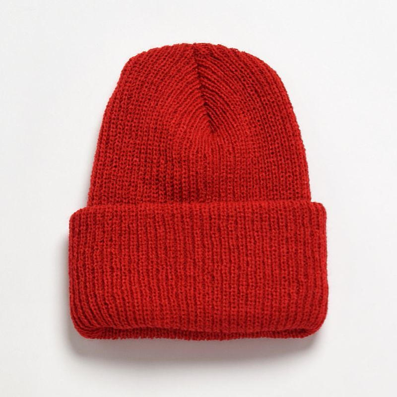 ※残りREDのみ <BRONER> Value knit cuff cap